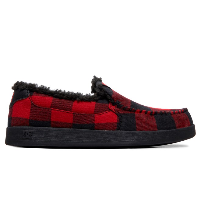 0 Villain WNT Winterized Slip-On Shoes Black ADYS100579 DC Shoes