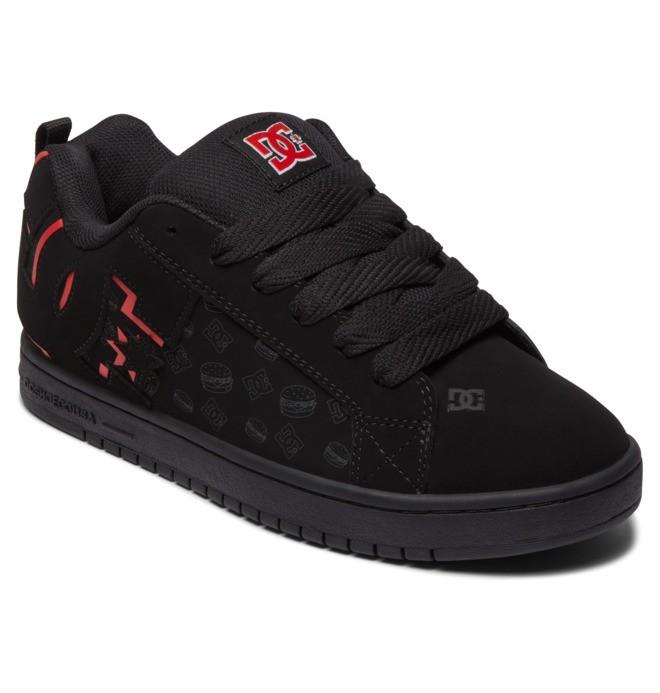 DC x Bobs Burgers Court Graffik - Leather Shoes  ADYS100660