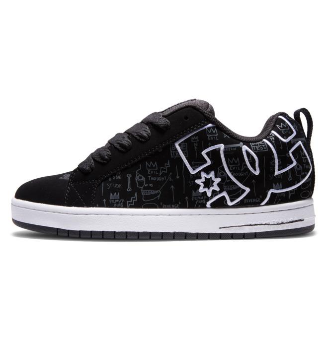 Basquiat Court Graffik - Leather Shoes for Men  ADYS100675