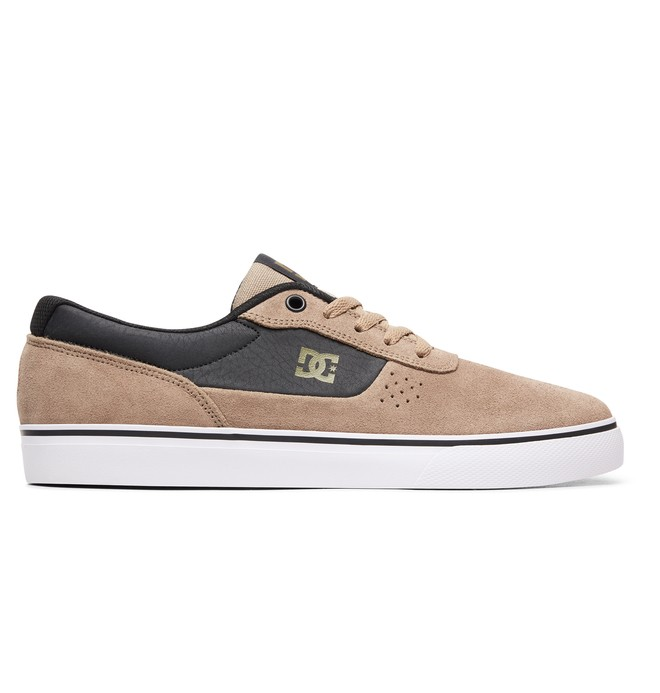0 Switch S Skate Shoes Brown ADYS300104 DC Shoes