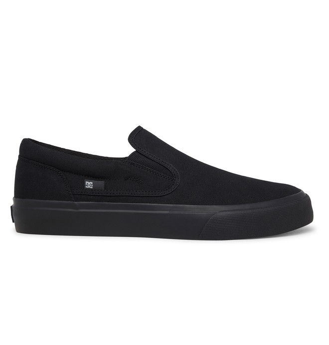 0 Trase Slip On Shoes Black ADYS300184 DC Shoes