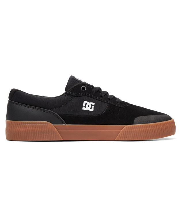 0 Switch Plus S - Skate Shoes for Men Black ADYS300399 DC Shoes