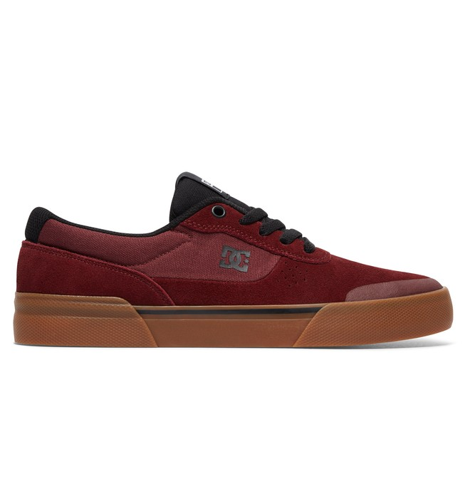 0 Switch Plus S - Skate Shoes for Men Red ADYS300399 DC Shoes