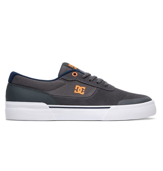 0 Switch Plus S Skate Shoes Grey ADYS300399 DC Shoes