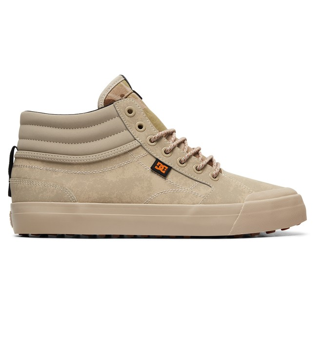0 Evan Smith Hi WNT - High-Top Winter Shoes Beige ADYS300412 DC Shoes