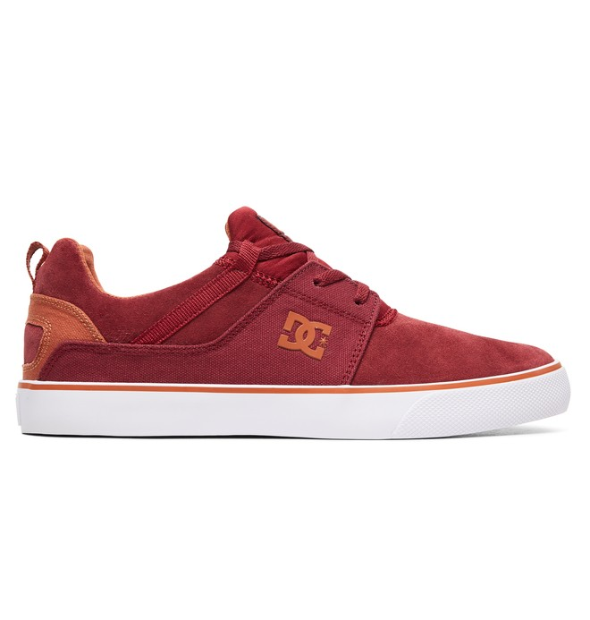 0 Heathrow Vulc Shoes Red ADYS300443 DC Shoes