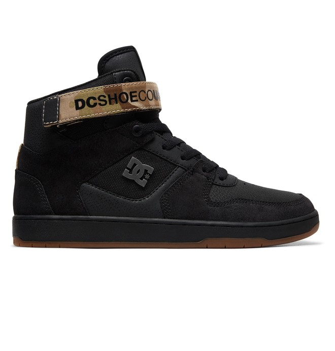 0 Pensford - High-Top Shoes Black ADYS400038 DC Shoes