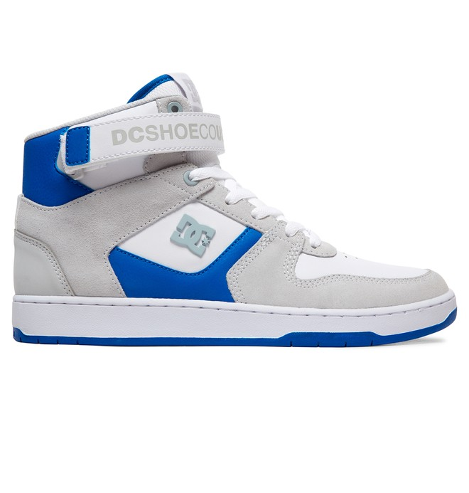 0 Pensford - Zapatillas Altas para Hombre Blanco ADYS400038 DC Shoes