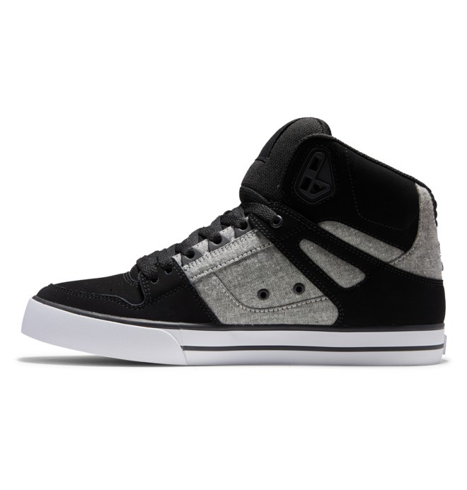 Pure High-Top - Leather High-Top Shoes for Men  ADYS400043