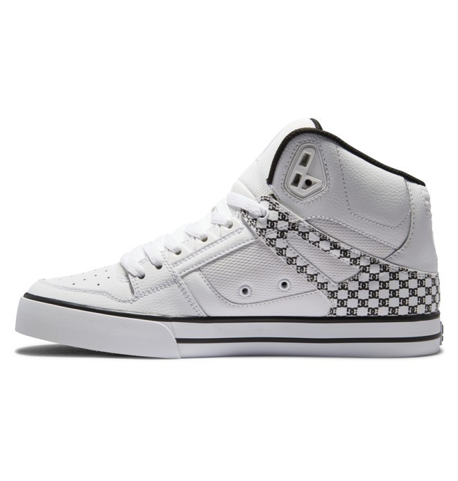 Pure High-Top - Leather High-Top Shoes  ADYS400043