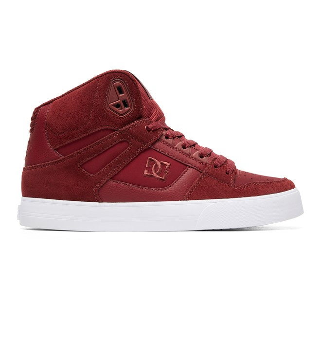 0 Pure SE - High-Top Shoes Red ADYS400043 DC Shoes
