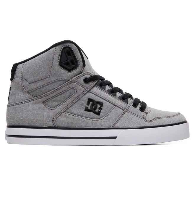 0 Pure WC TX SE - High-Top Shoes Grey ADYS400046 DC Shoes