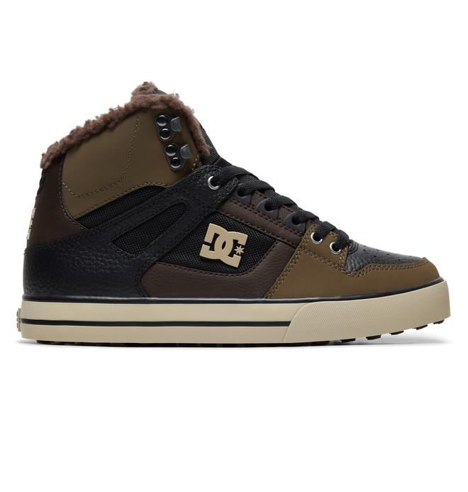 0 Pure WNT Winter High-Top Boots Green ADYS400047 DC Shoes