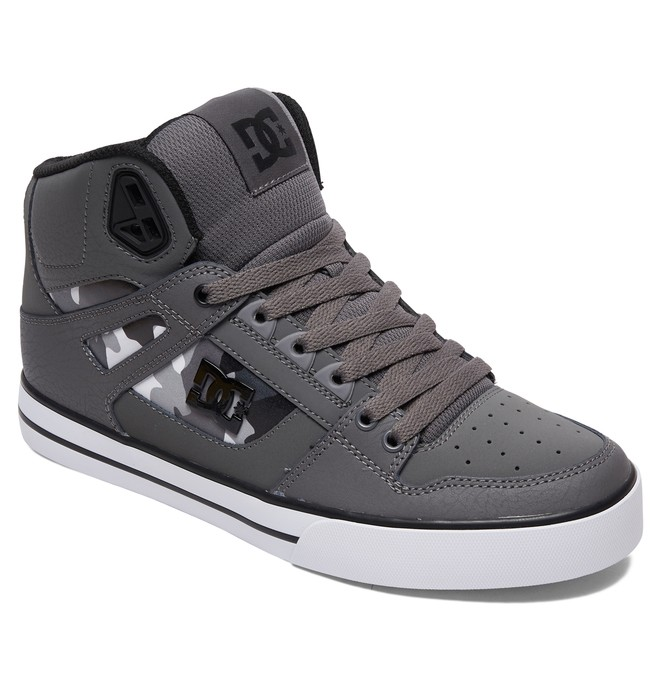 Pure High-Top - Leather High-Top Shoes for Men  ADYS400050