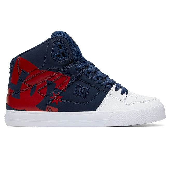 0 Pure - High-Top Shoes Blue ADYS400050 DC Shoes