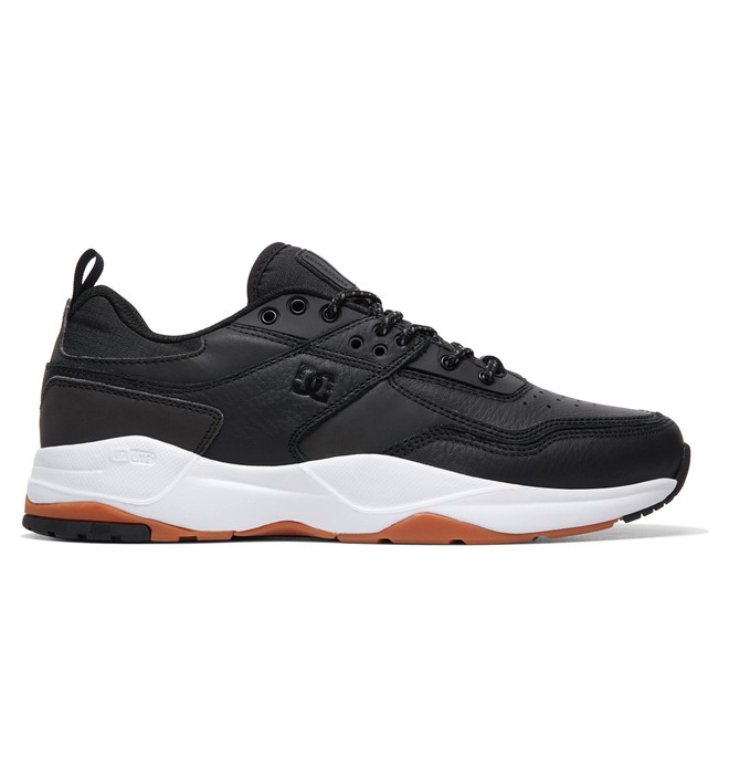 0 E.Tribeka LE - Leather Shoes for Men Black ADYS700146 DC Shoes