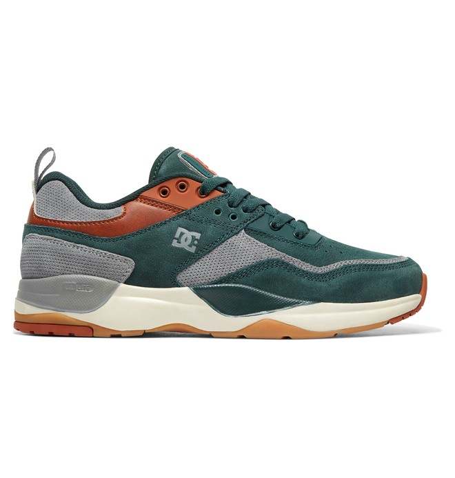 0 E.Tribeka LE - Leather Shoes for Men Green ADYS700146 DC Shoes
