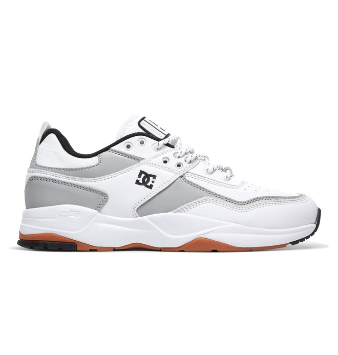 0 E.Tribeka LE - Leather Shoes White ADYS700146 DC Shoes
