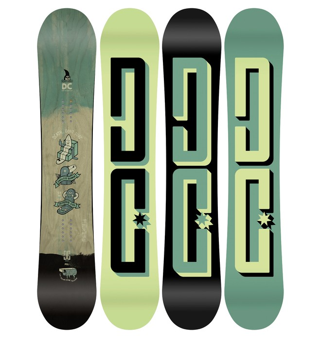 0 PBJ Snowboard Grey ADYSB03028 DC Shoes