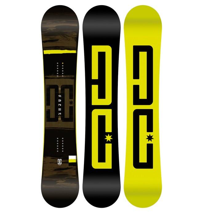 0 Focus Snowboard Grey ADYSB03031 DC Shoes