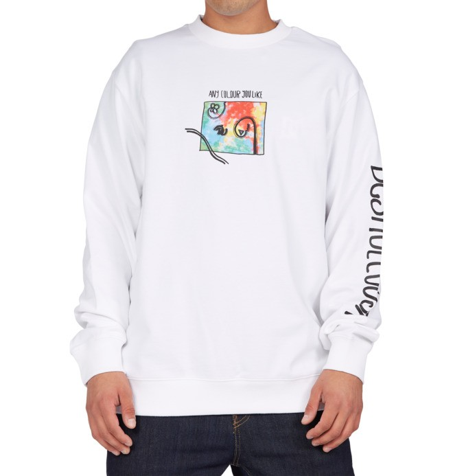 Any Colour - Crew Neck Sweatshirt for Men  ADYSF03060