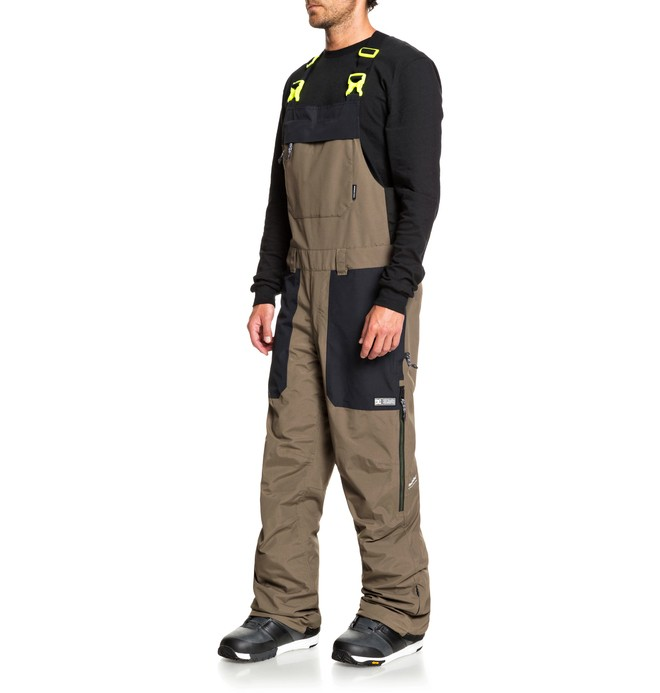 Brigade - Shell Snowboard Bib Pants for Men  ADYTP03000