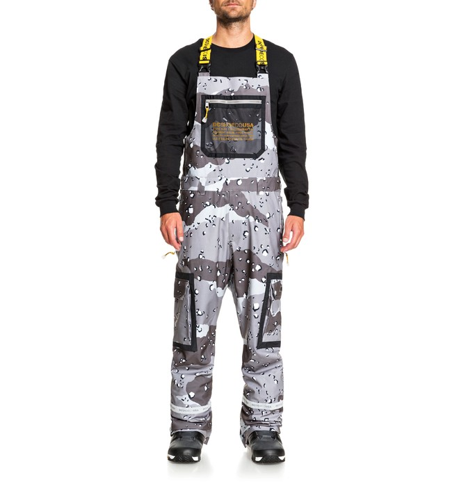 Revival - Shell Snowboard Bib Pants for Men  ADYTP03001