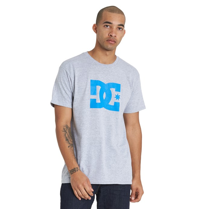 0 DC Star Tee Black ADYZT03119 DC Shoes