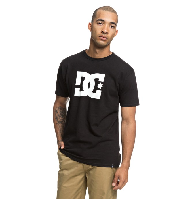 0 Camiseta DC Star Negro ADYZT03119 DC Shoes