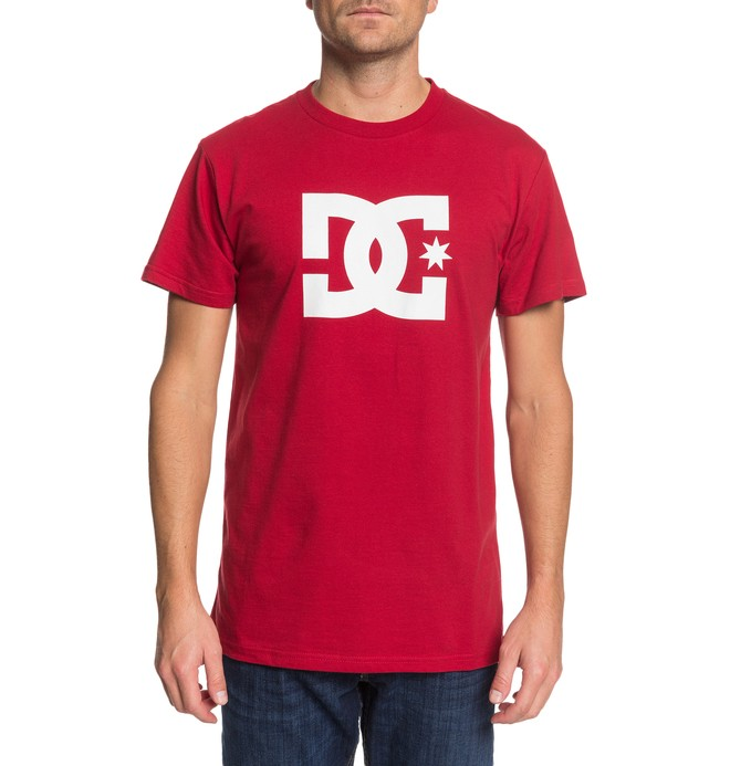 0 DC Star Tee Red ADYZT03119 DC Shoes