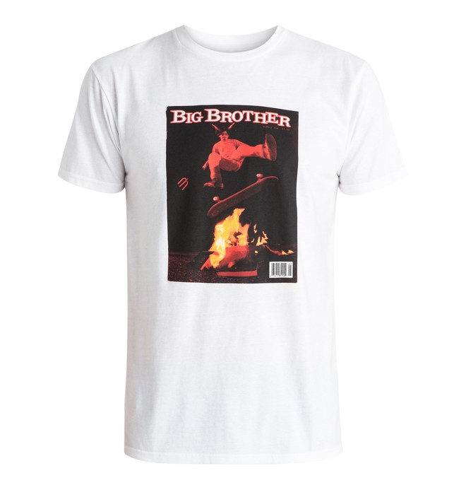 0 Men's Issue 666 Tee White ADYZT03739 DC Shoes