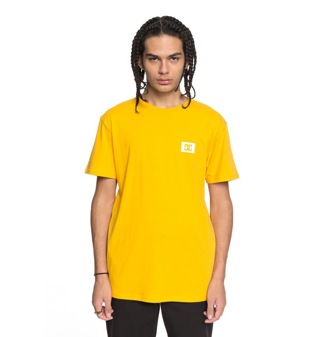 0 Stage Box Tee Yellow ADYZT04245 DC Shoes