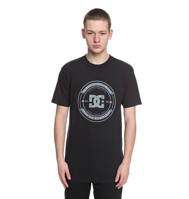 0 Brodkast Tee Black ADYZT04288 DC Shoes