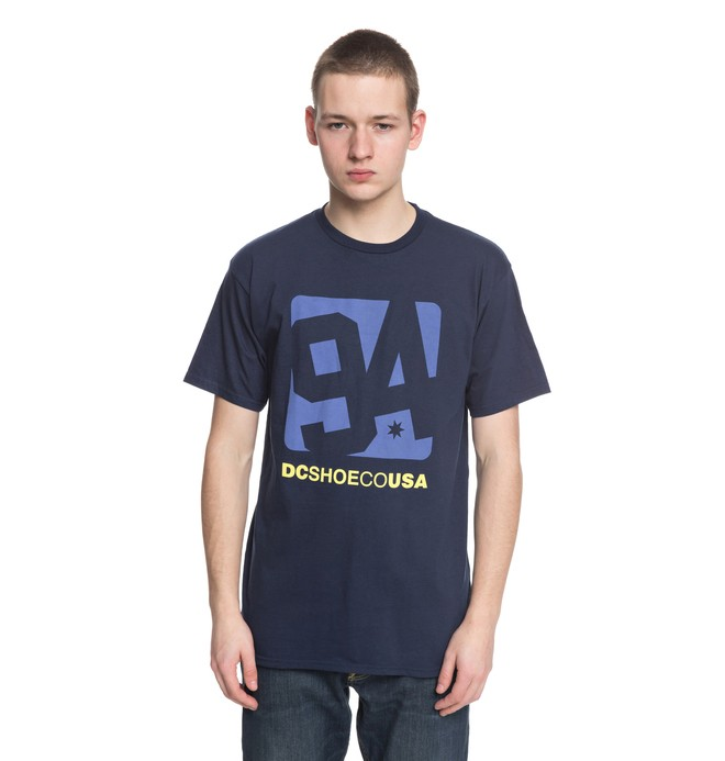 0 Arched Tee Blue ADYZT04306 DC Shoes
