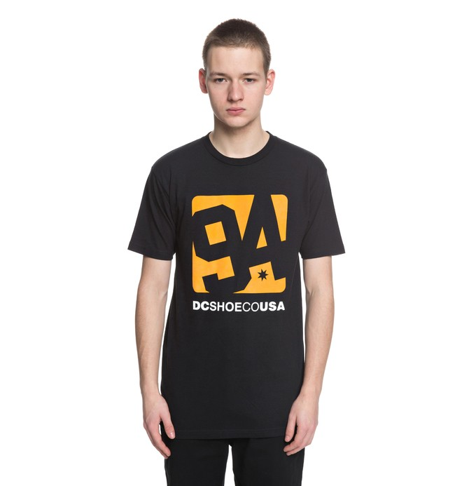 0 Arched Tee Black ADYZT04306 DC Shoes