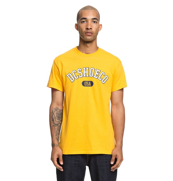 0 Arch Tee Yellow ADYZT04356 DC Shoes