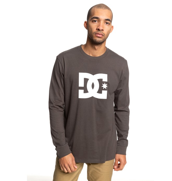 0 Star Long Sleeve Tee White ADYZT04376 DC Shoes