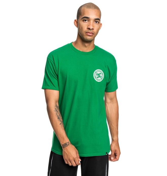 0 Camiseta  Circle Star Verde ADYZT04377 DC Shoes