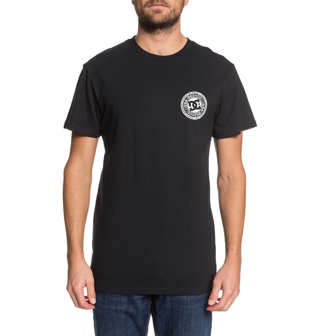 0 Circle Star Tee Black ADYZT04377 DC Shoes