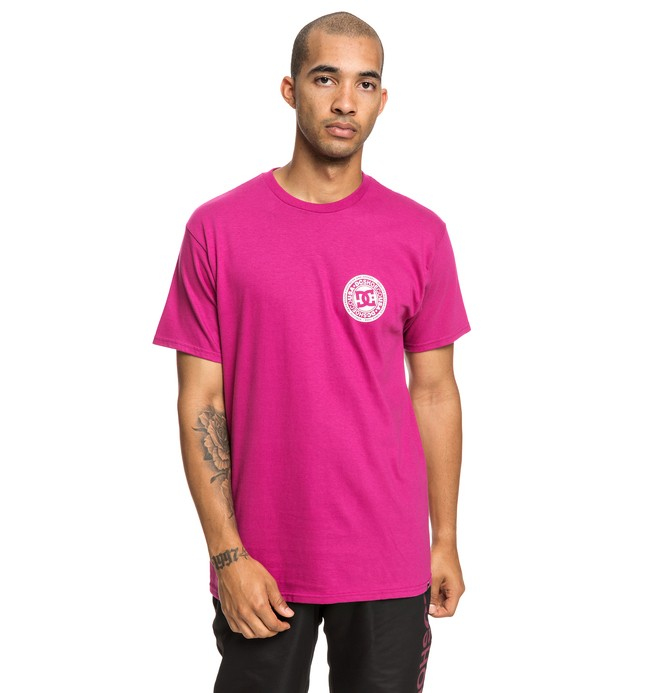 0 Camiseta  Circle Star Rosa ADYZT04377 DC Shoes
