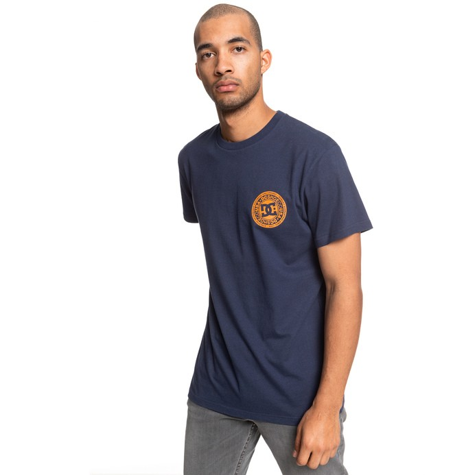 0 Camiseta  Circle Star Azul ADYZT04377 DC Shoes