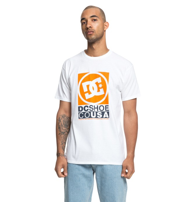 "0 Wilin 18"" Tee White ADYZT04380 DC Shoes"