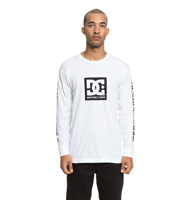 0 SQUARE STAR LS Blanco ADYZT04383 DC Shoes