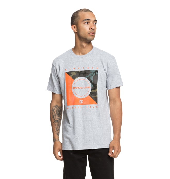 0 Sircamo Tee Grey ADYZT04388 DC Shoes