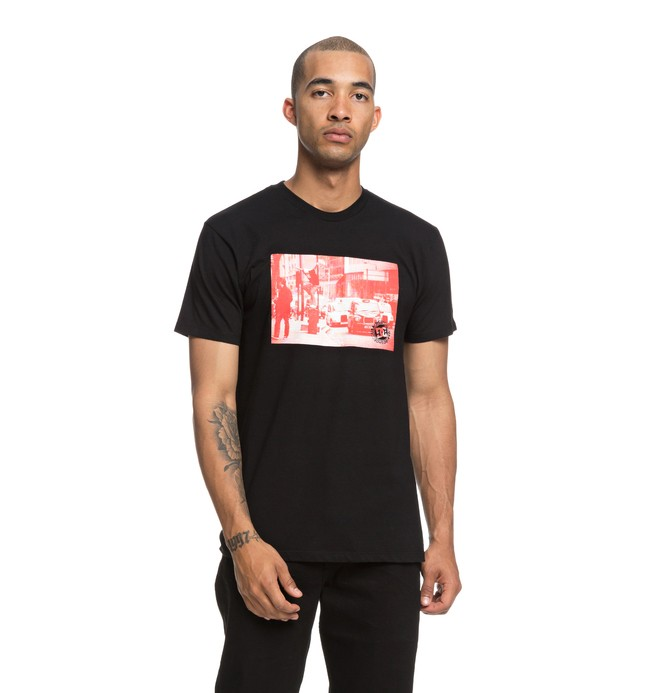 0 Shadon Tee Black ADYZT04389 DC Shoes