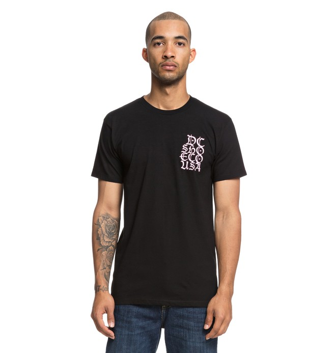 0 Camiseta No Liberty Negro ADYZT04392 DC Shoes