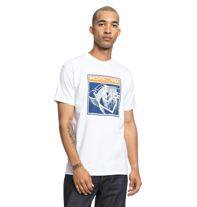0 Terrain Tee White ADYZT04401 DC Shoes