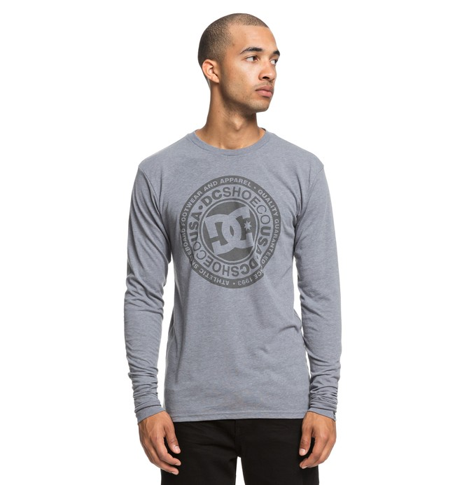 0 Splitted Long Sleeve Tee Grey ADYZT04428 DC Shoes