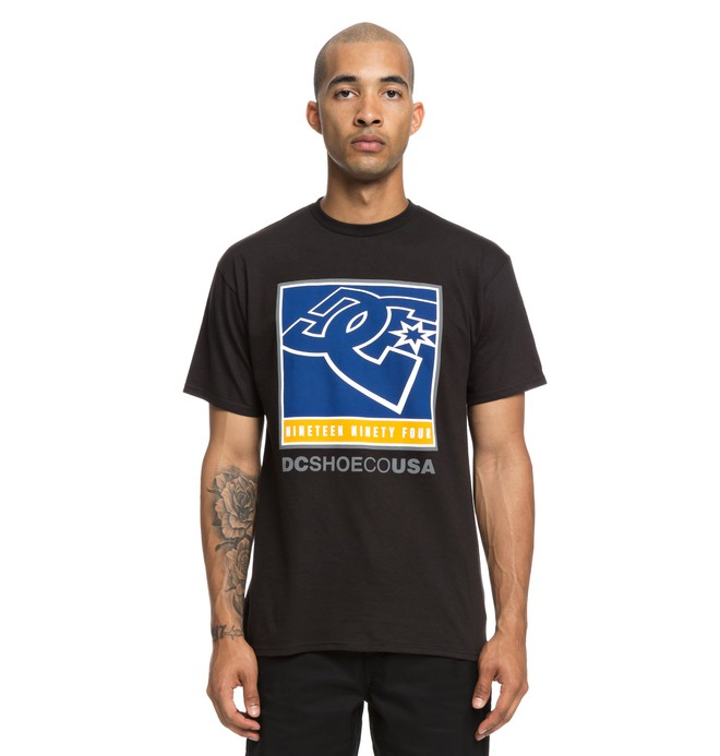 0 Blahked Tee Black ADYZT04441 DC Shoes
