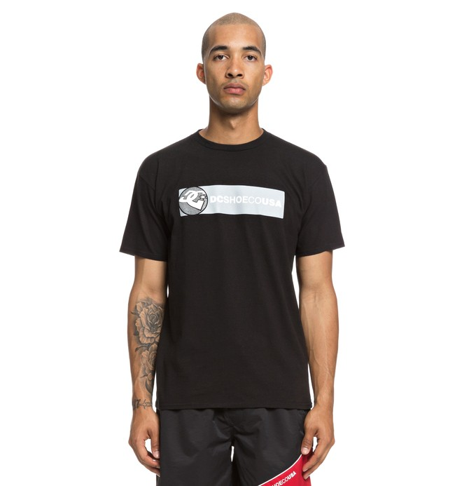 0 Bumper Tee Black ADYZT04445 DC Shoes